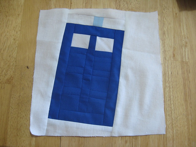 tardis quilt block by Amy's Babies, via Flickr: Baby Gifts, Amy Baby, Photo