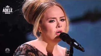 Adele Rolling In The Deep Live Brit Awards 2012 (HD) - YouTube