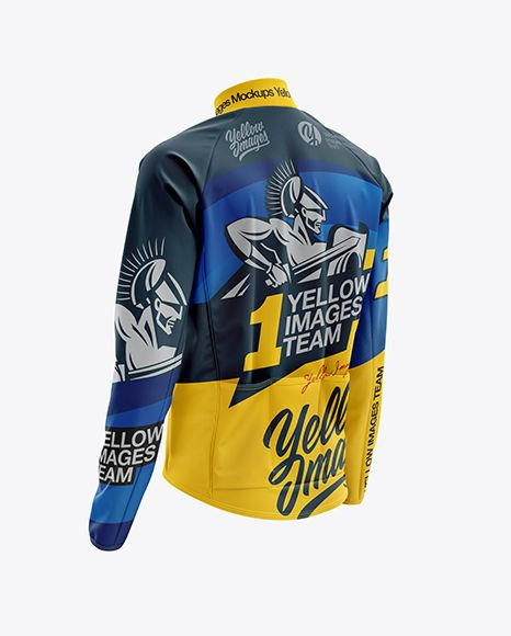 Download Men S Cycling Wind Jacket Mockup Back Half Side View In Apparel Mockups On Yellow Images Object Mockups Wind Jacket Clothing Mockup Design Mockup Free