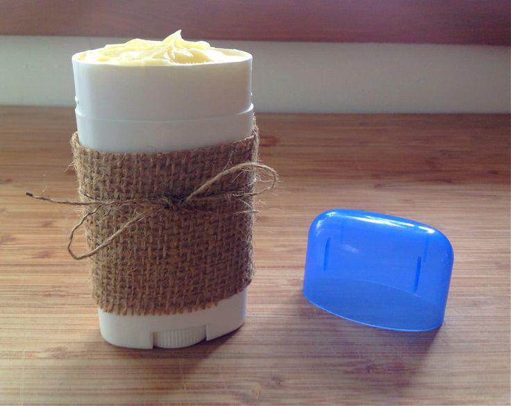 How to make deodorant at home. Natural, homemade deodorant.