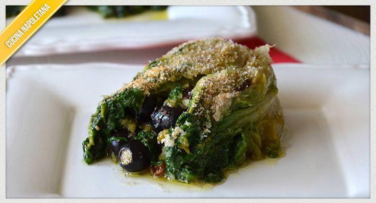 Un tipico piatto napoletano è la scarola imbottita di cui presentiamo la ricetta per preparare una pietanza gustosa sia come contorno sia come secondo.