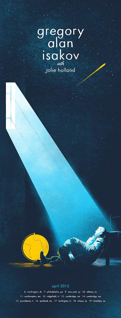 Gregory Alan Isakov Poster on Behance