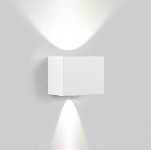 witte wandlamp Tiga  by Delta Light