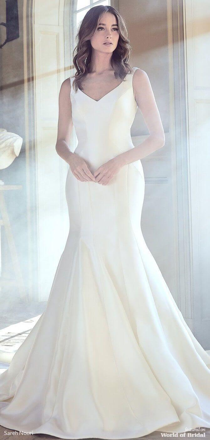 Sareh Nouri Spring 2019 Wedding Dresses World Of Bridal Fit And Flare Wedding Dress Sareh Nouri Wedding Dress Wedding Dresses Kleinfeld [ 1399 x 670 Pixel ]