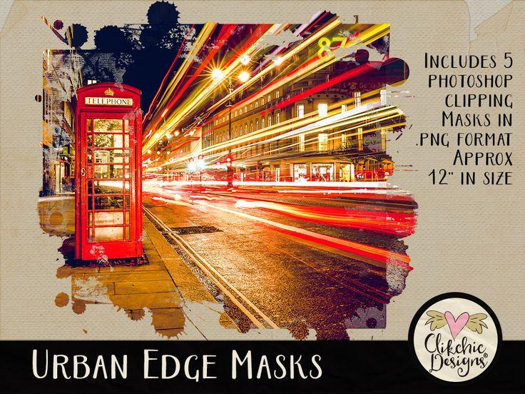 Urban Edge Clipping Masks