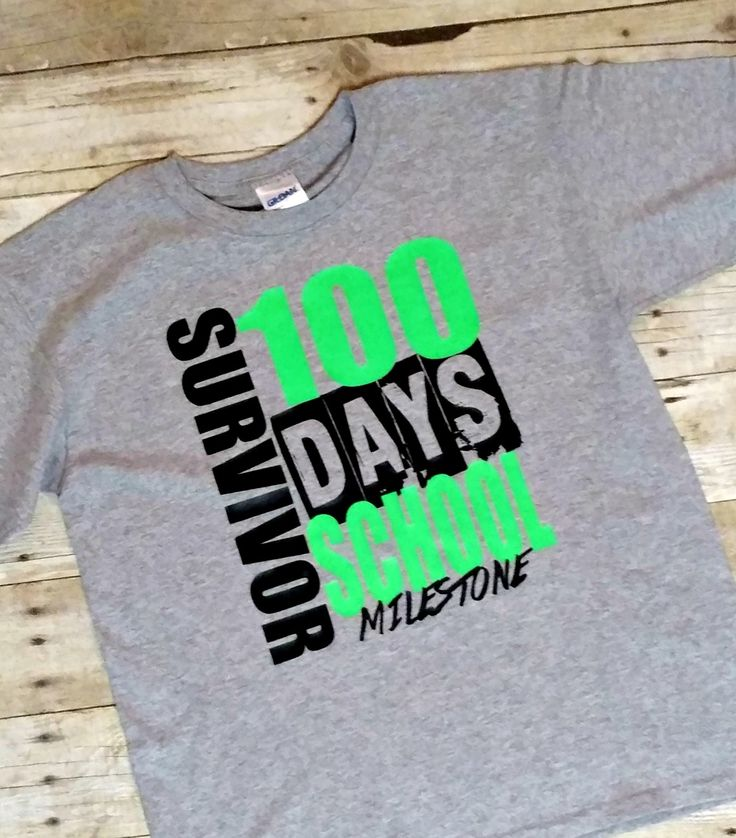 100 Days of School Shirt with FREE CUT FILE- My Paper Craze