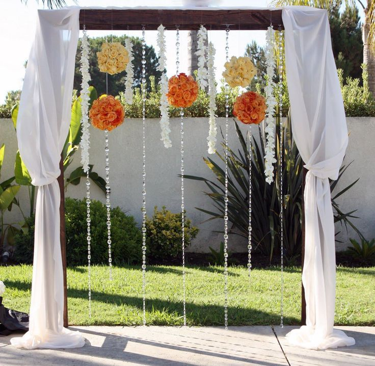 Wedding Altar Trellis: 25 Best Wedding Altar Images On Pinterest