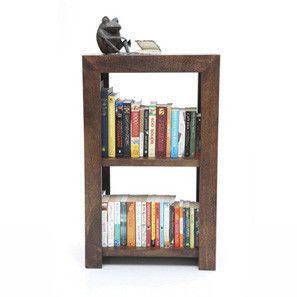 Beem 2-Shelf Book-Case (Walnut Finish)