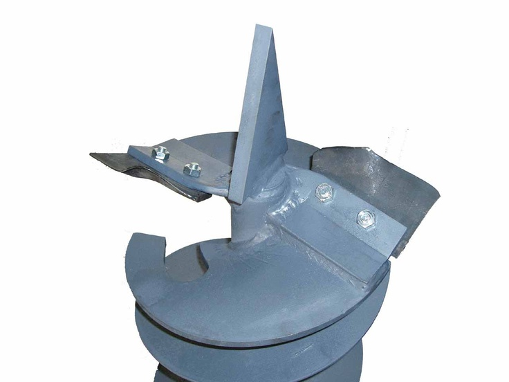 Auger bit with knives for soft soils