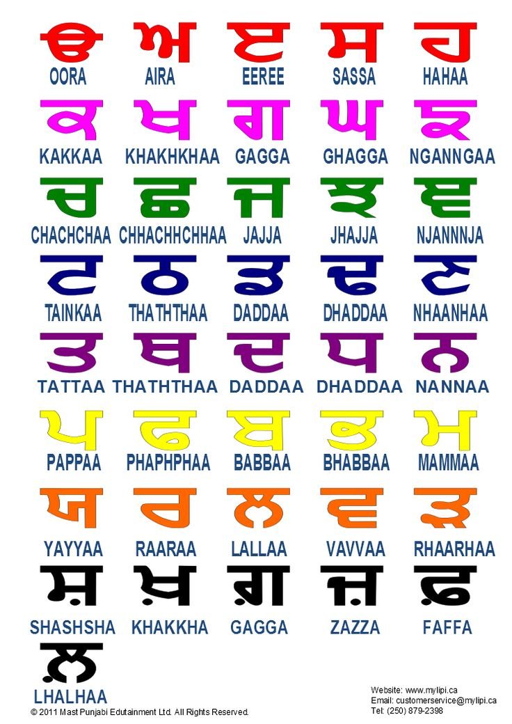 Punjabi Language Learning for Beginners - WizIQ
