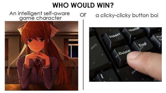 Doki Doki Literature Club | Meme | Monika