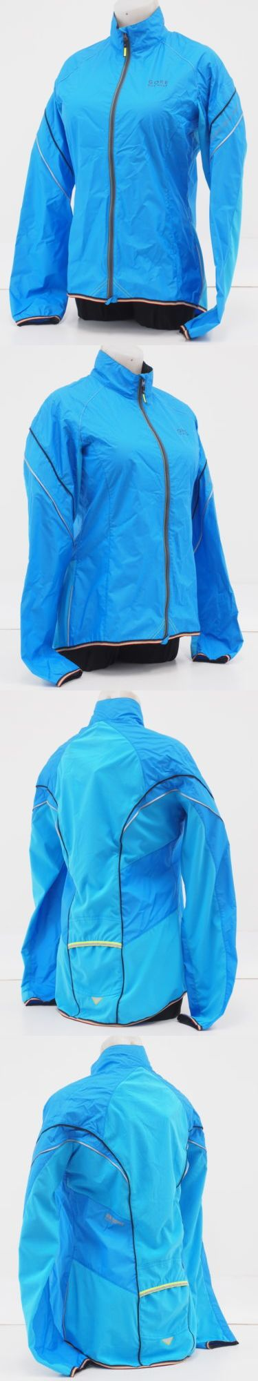 Jackets 36124: New! Gore Bike Wear Power As Lady Cycling Jacket Size Large Eu 40 Waterfall Blue -> BUY IT NOW ONLY: $39.99 on eBay!