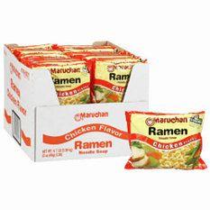 Maruchan Ramen Noodle Soup, Chicken Flavor (3 oz. cup, 36 pk.)