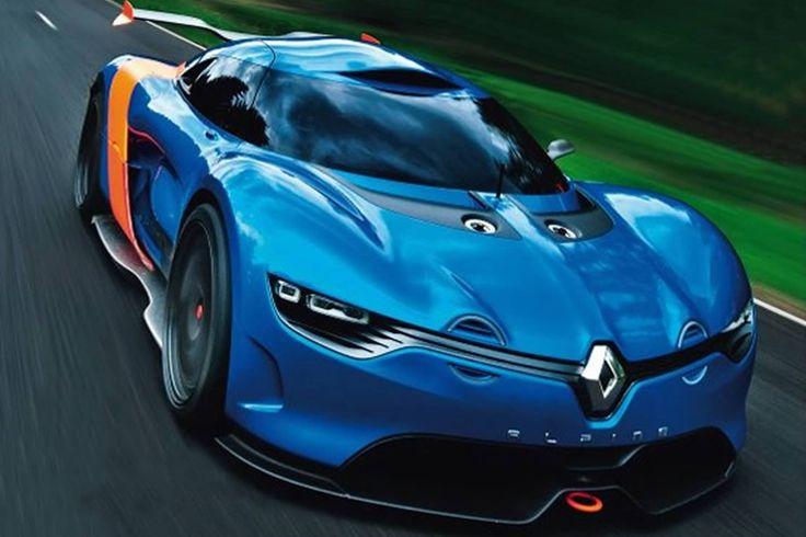 Alpine A 110 - 50  La voiture du futur?