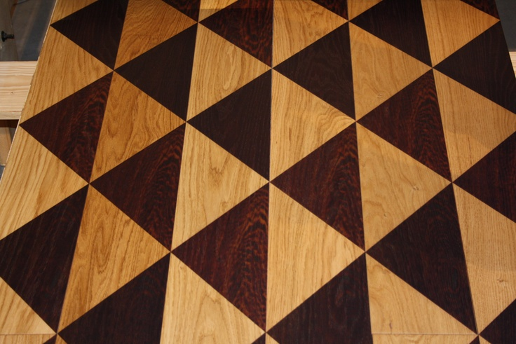 Marqueteria by Miguel Angel Ciganda. Decorated wood floor. Presentation in Milano