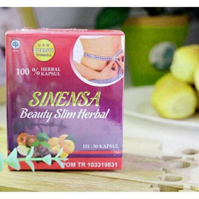 Saya menjual Sinensa Beauty Slim Herbal isi 50 Kapsul (Pelangsing Tubuh) seharga Rp150.000. Ayo beli di Shopee! https://shopee.co.id//45502912/