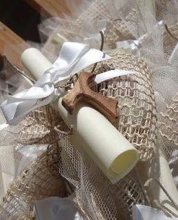 """Eventi&decorazioni: Croce """"Tau"""" e confetti colorati per la Prima Comunione"""