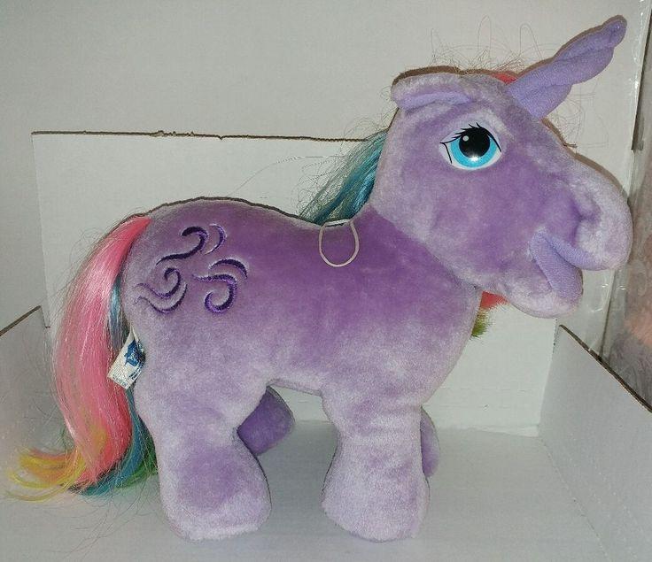1984 hasbro softies my little pony with brush mlp windy