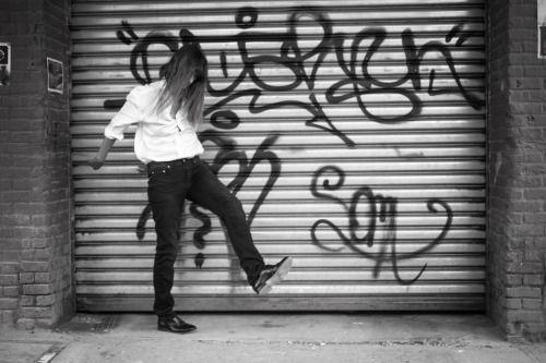Blkdnm: CAROLINE DE MAIGRET IN MEN'S JEANS 25. PHOTOGRAPHED BY...