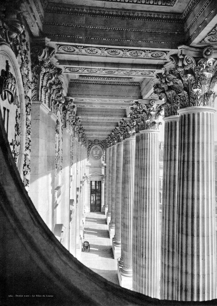 colonnade by perrault Philatelic photograph: louvre (perrault's) colonnade - paris, france interesting  places i've photographed louvre (perrault's) colonnade.