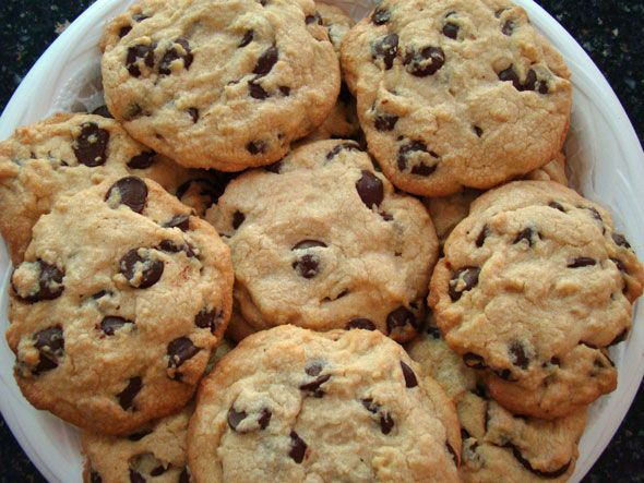 Cookie Recipes   Big Soft Chewy Chocolate Chip Cookies