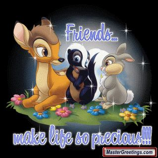 Friendship Glitters