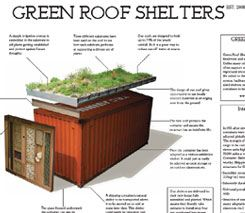 Green Roof Shelters - a PDF