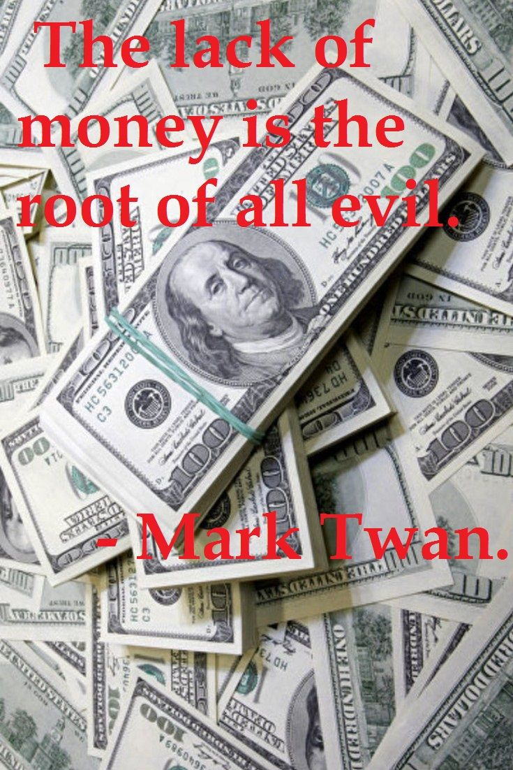 Money, currency: a selection of quotes