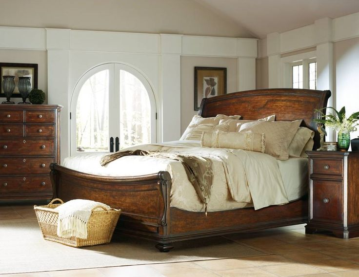 continental sleigh bedroom set bedroom sets from stanley at