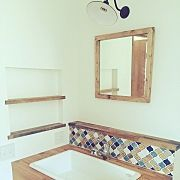 Bathroom/造作洗面台/コラベル/病院用シンクのインテリア実例 - 2015-12-10 03:56:48