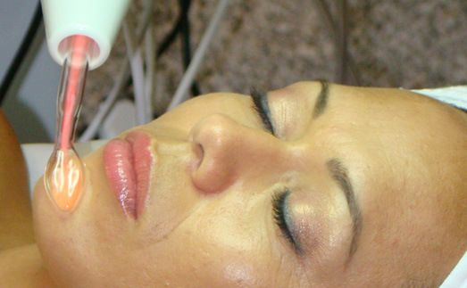 The benefits of a high frequency treatment, which can be added on to a facial: kills bacteria, eliminates acne and breakouts, aids in healing the skin, increases circulation and stimulates the cell production.