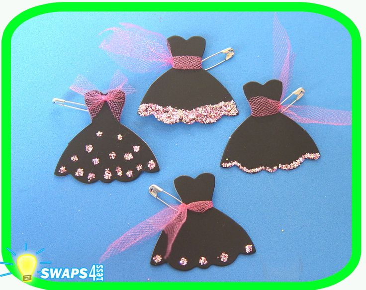 Lil' Black Dress Scout Swaps Girl Craft Kit SWAPS4LESS | eBay