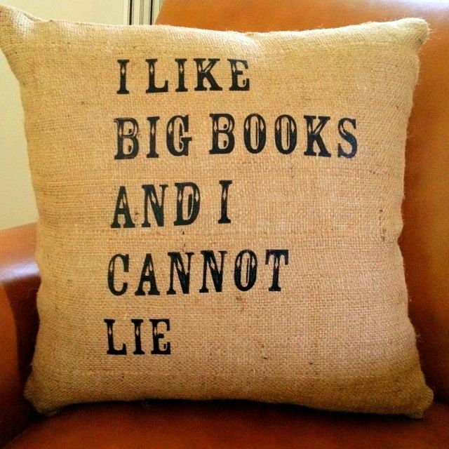 HA. Love this pillow.