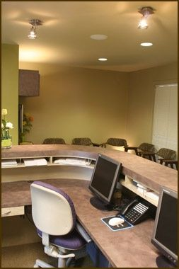Washington state dental and medical office space interior for Medical office interior design
