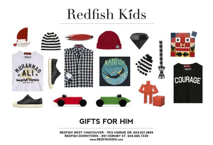 Gifts for Boys   www.redfishkids.com