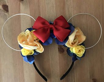 Snow White Wire Mickey ears