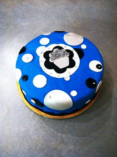 Cupcake verjaardagstaart