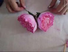 Мастер-классы Цветы из Фоамирана Видео
