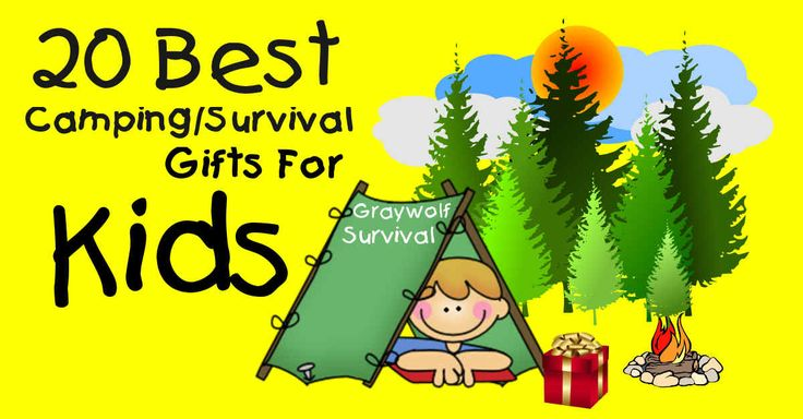 Stuck with what to get your kids? Camping and survival gifts are ALWAYS cool. Here are 20 of the best ideas along with examples. http://graywolfsurvival.com/75952/20-best-camping-survival-gift-ideas-for-kids/