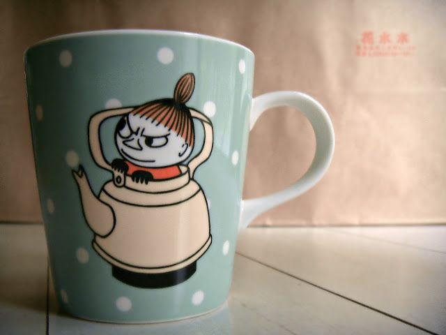 vulegnarts: Moominvalley's 'Little My' mug Finland