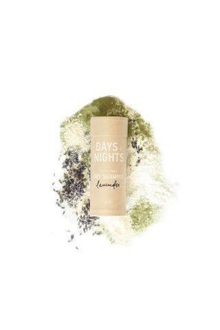 Days + Nights Dry Shampoo (all-natural, all-organic, talc-free hair powder)