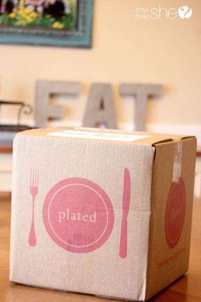 Plated. Gourmet dinner at your door around $15 a plate. Fun date night in activity! totally doing this!