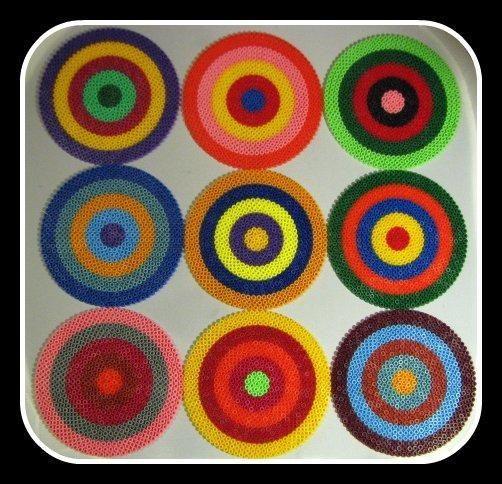 Kadinsky hama beads resource for kids by merry