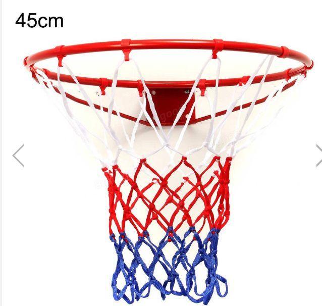 Sfi Posao Hanging Basketball Goal Hoop Rim Metal Netting Basketball Goals Basketball Games For Kids Basketball Rim