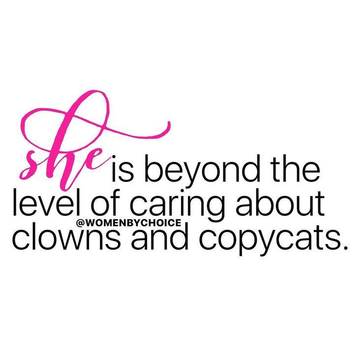 Yes you're a clown aaaaand a copy cat.  Psycho