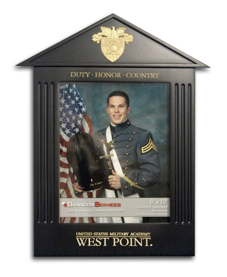 West Point Graduation Picture Frame