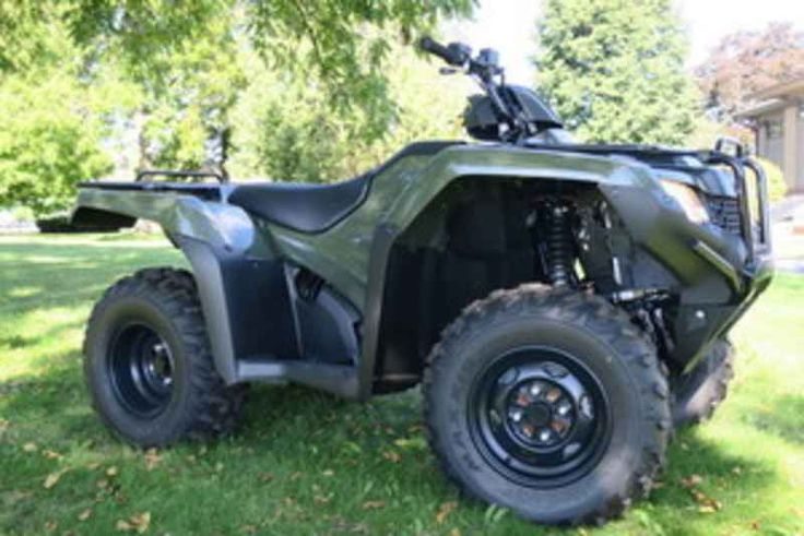 New 2017 Honda FourTrax Rancher 4X4 ES ATVs For Sale in Wisconsin. 2017 Honda FourTrax Rancher 4X4 ES, 2017 Honda® FourTrax® Rancher® 4X4 ES Something For Just About Everyone. Any mechanic, woodworker, tradesman or craftsman knows that the right tool makes the job a whole lot easier. And having the right tool means having a choice. We ve all seen someone try to drive a screw with a butter knife, or pound a nail with a shoe heel. The results are never pretty. Honda s FourTrax Rancher line…