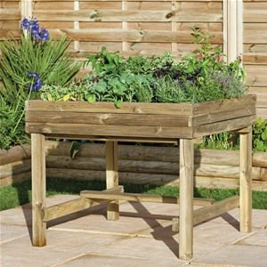 Plant vegetables in style with this great value raised veg bed