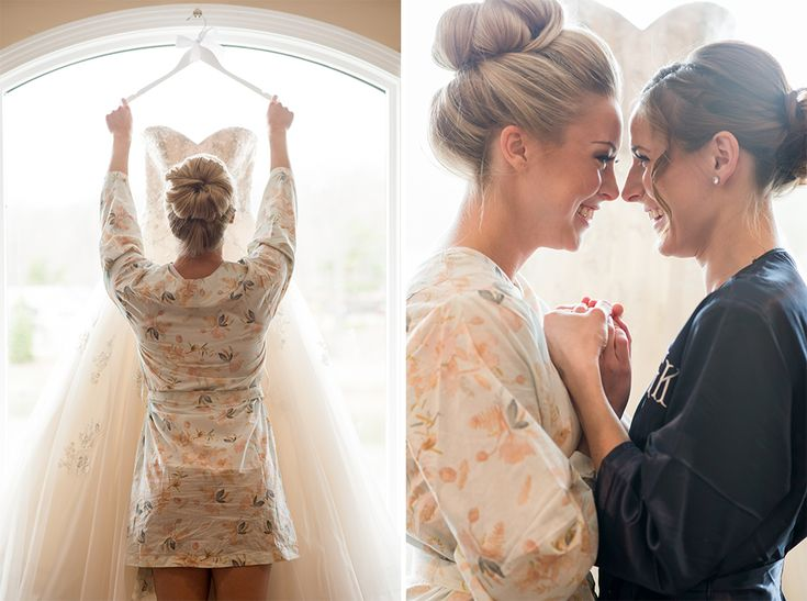 When your maid of honor is just excited as you are for your big day | @BridalPulse | Photo @georgestreetpv