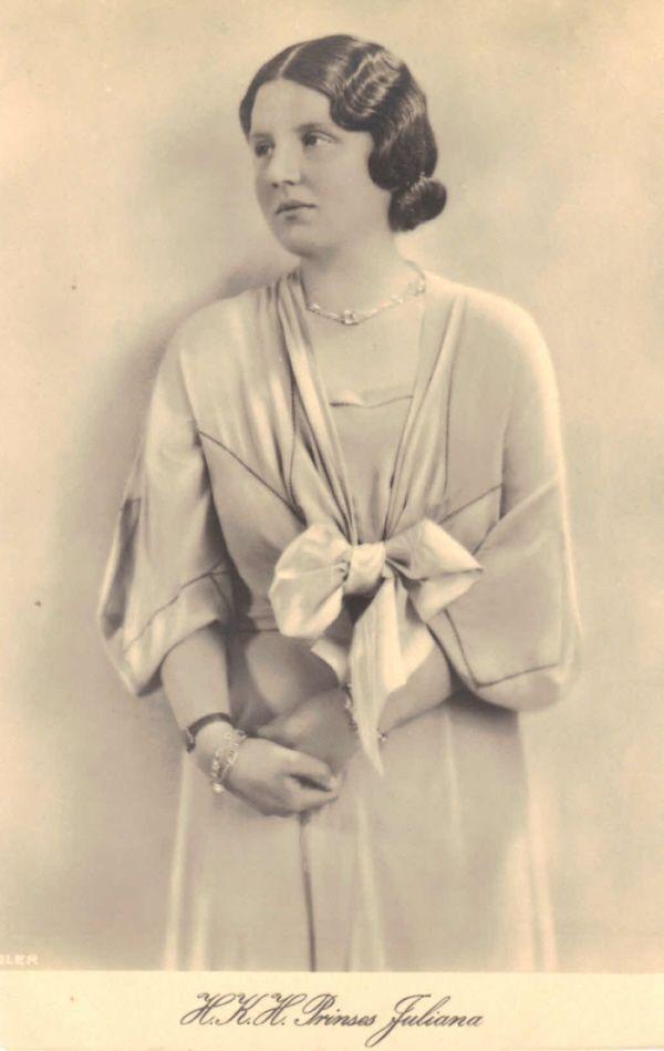 Princess Juliana (later Queen Juliana of Holland). Circa 1930s?